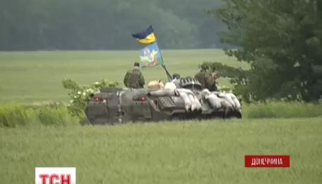 Сили АТО на Донбасі прорвались крізь блокпости терористів біля Красного Лиману