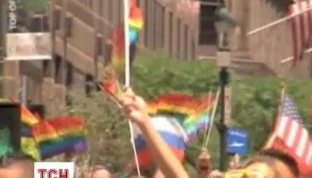 Гей-парад в Нью-Йорке собрал до миллиона человек
