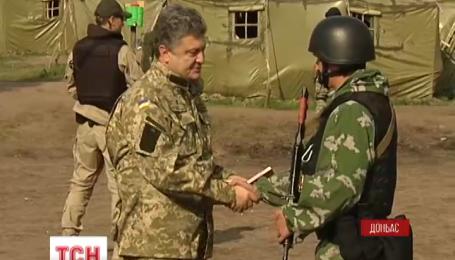 На Донбасі Петро Порошенко оприлюднив пропозиції щодо стабілізації ситуації на Сході