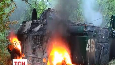 Террористы взорвали склад боеприпасов Национальной гвардии на Луганщине