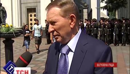 Кучма советует решать конфликт с Россией при посредничестве Европы и США