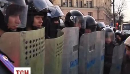 Возле Харьковской ОГА продолжаются митинги
