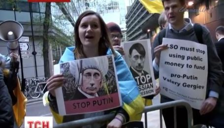 В Лондоне собрались на акцию против дирижера-сторонника Путина