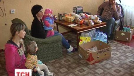 Николаевцы искренне приняли беженцев из Крыма