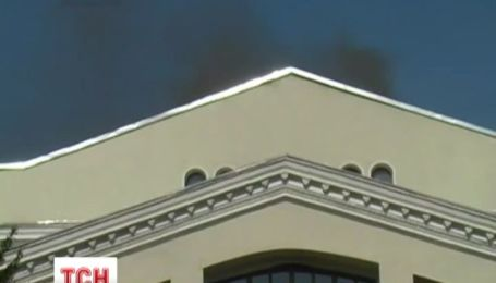 В Полтаве актеры пытались остановить пожар в театре им . Гоголя