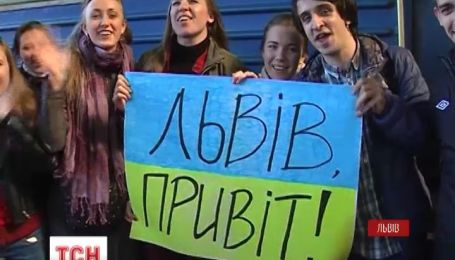 Львовские студенты зовут к себе в гости жителей Востока