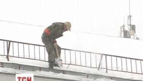 1 апреля Москву атаковали снегопады