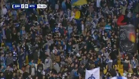 Олег Гусев забил красивый гол 22 тура чемпионата Украины