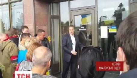 Добкина отменил пресс-конференцию о Херсоне, чтобы попасть к Кернесу