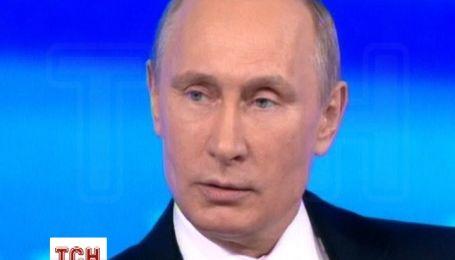 Путін заявив, що російських підрозділів на Сході України немає, а в Криму - були