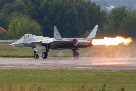 У Росії розбився винищувач Су-57