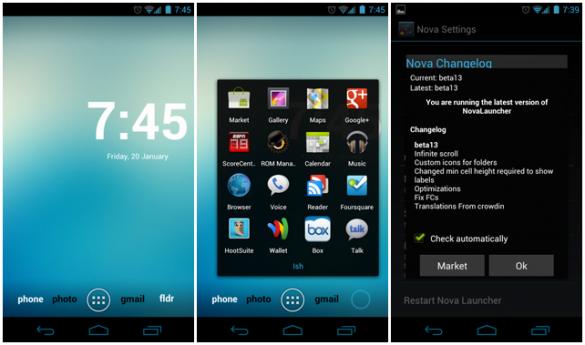 Android Nova Launcher