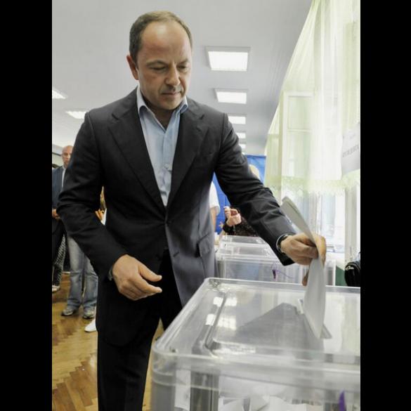 Сергій Тігіпко на виборах