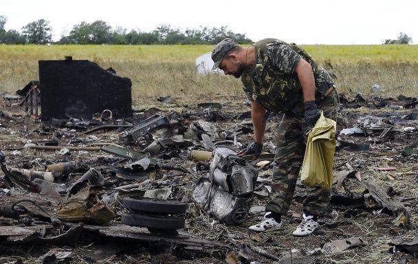 Терористи прийшли подивитися на збитий Іл-76