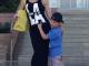 Денисова з сином відпочиває у Криму