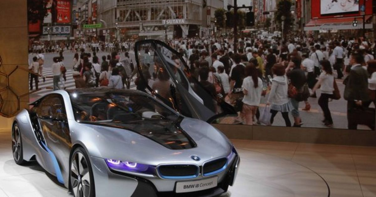 BMW i8 @ AFP