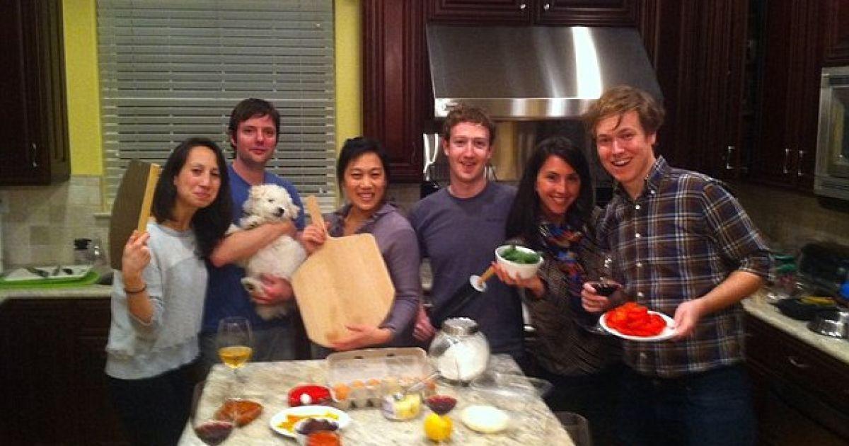 Приватні фото Цукерберга опинилися у відкритому доступі @ Facebook