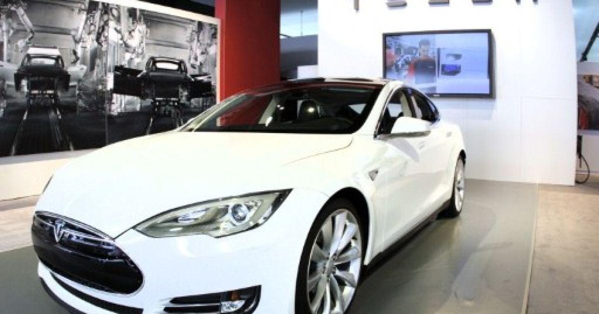 Tesla Model S @ AFP