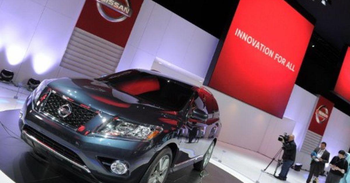 Nissan Pathfinder SUV @ AFP
