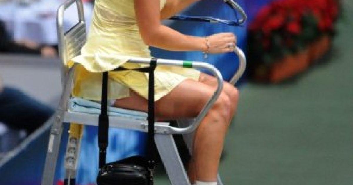 Перша ракетка світу Каролін Возняцкі влаштувала справжнє шоу на благодійному тенісному матчі @ AFP