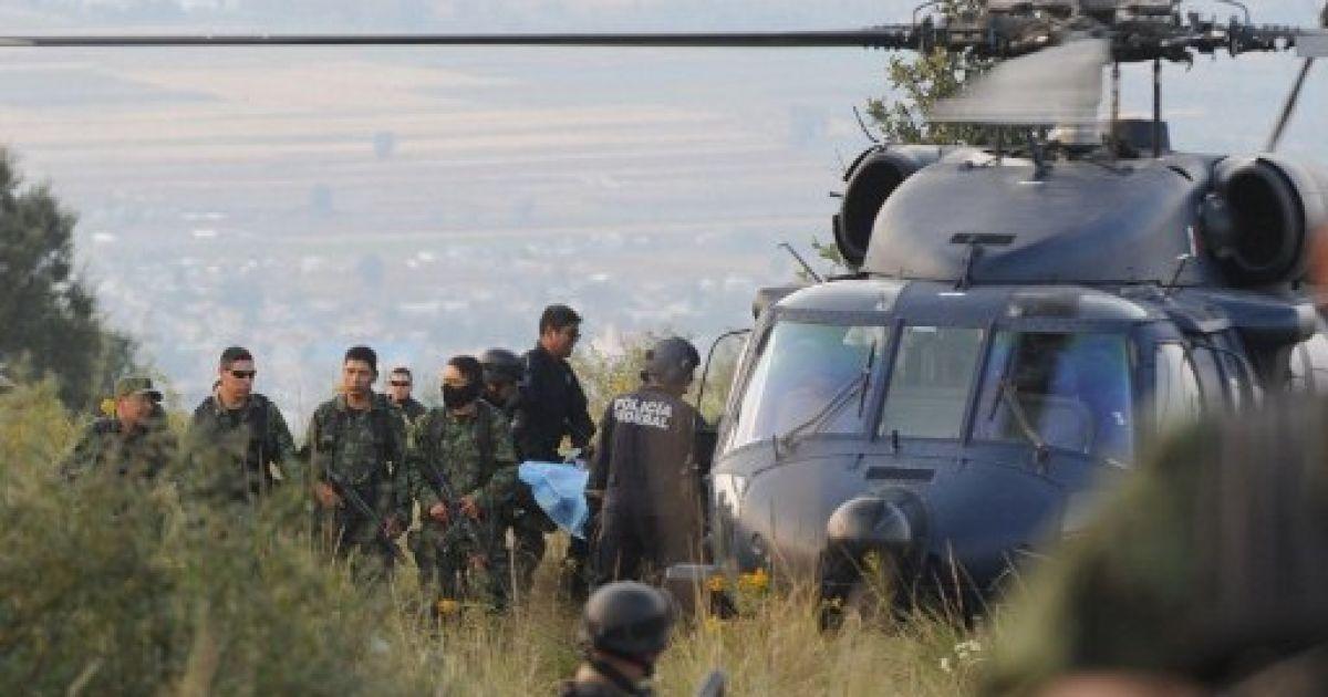 У Мексиці в аварії вертольота поблизу Мехіко загнув міністр внутрішніх справ Мексики Франсіско Блейк Мора @ AFP