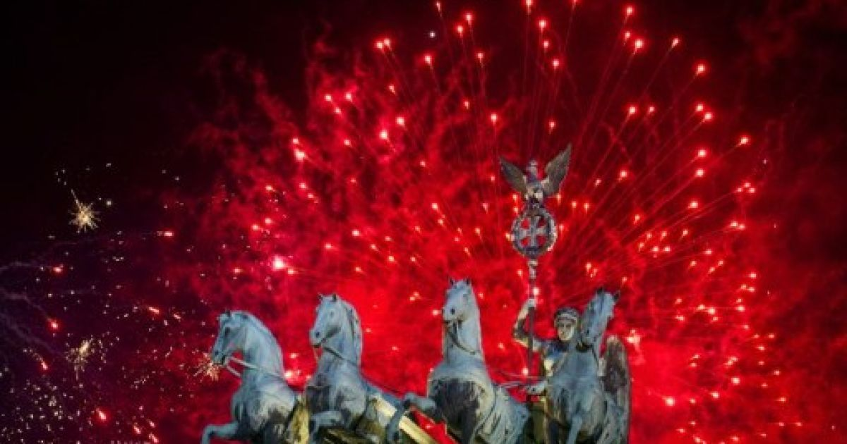 Зустріч Нового року. Берлін @ AFP