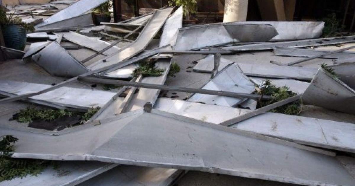 Американське місто Пасадена у штаті Каліфорнія опинилося в епіцентрі сильного урагану. @ AFP