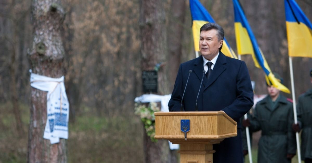 """""""Меморіал стане символом пам'яті про тих, хто зазнав тяжких мук і несправедливості"""". @ Прес-служба президента України"""