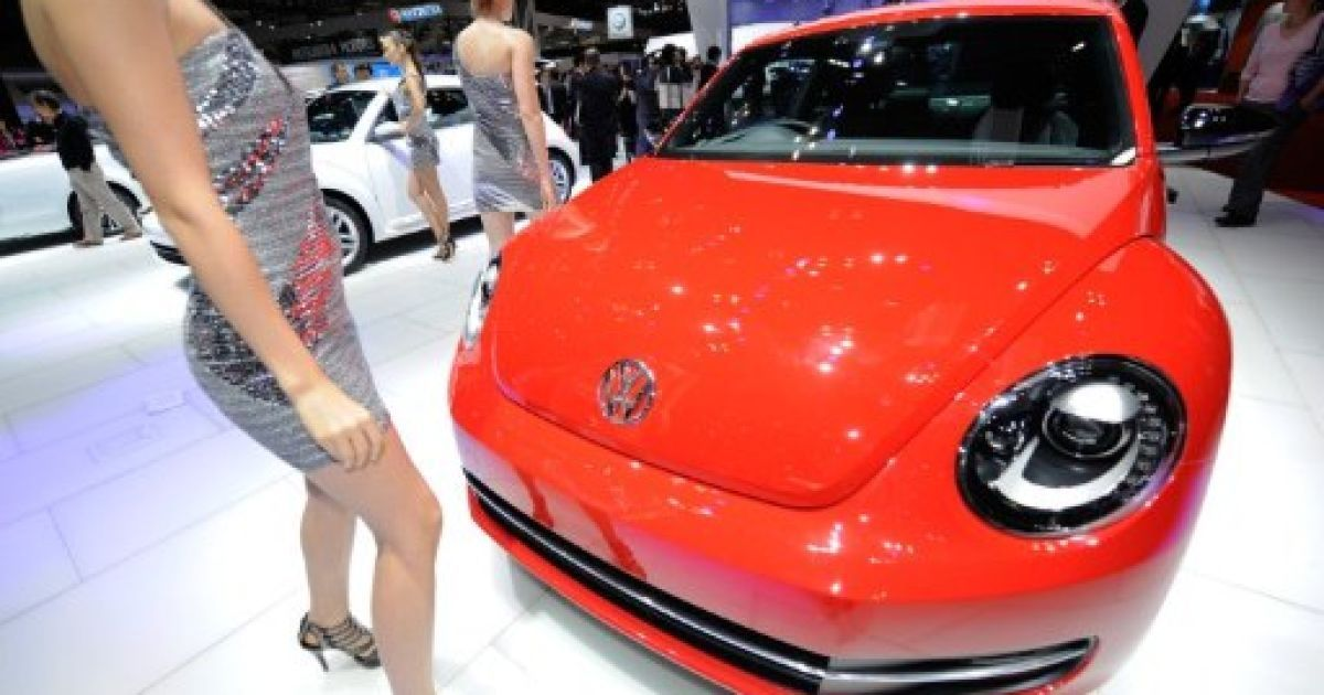 Новий Volkswagen Beetle @ AFP