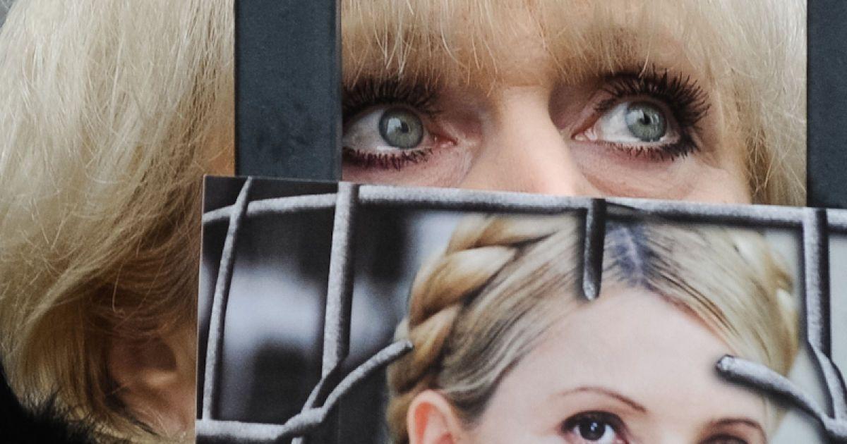 Прихильники Тимошенко під Апеляційним судом @ Євген Малолєтка/ТСН.ua