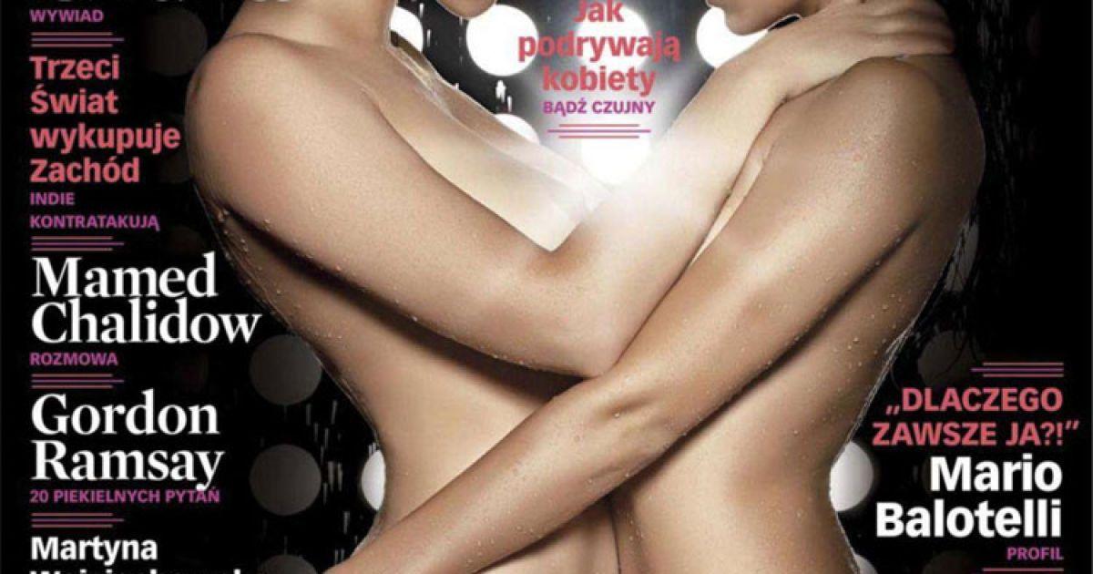 Даша Астаф'єва і Нана з гурту NikitA у грудневому номері польського журналу Playboy @ Playboy
