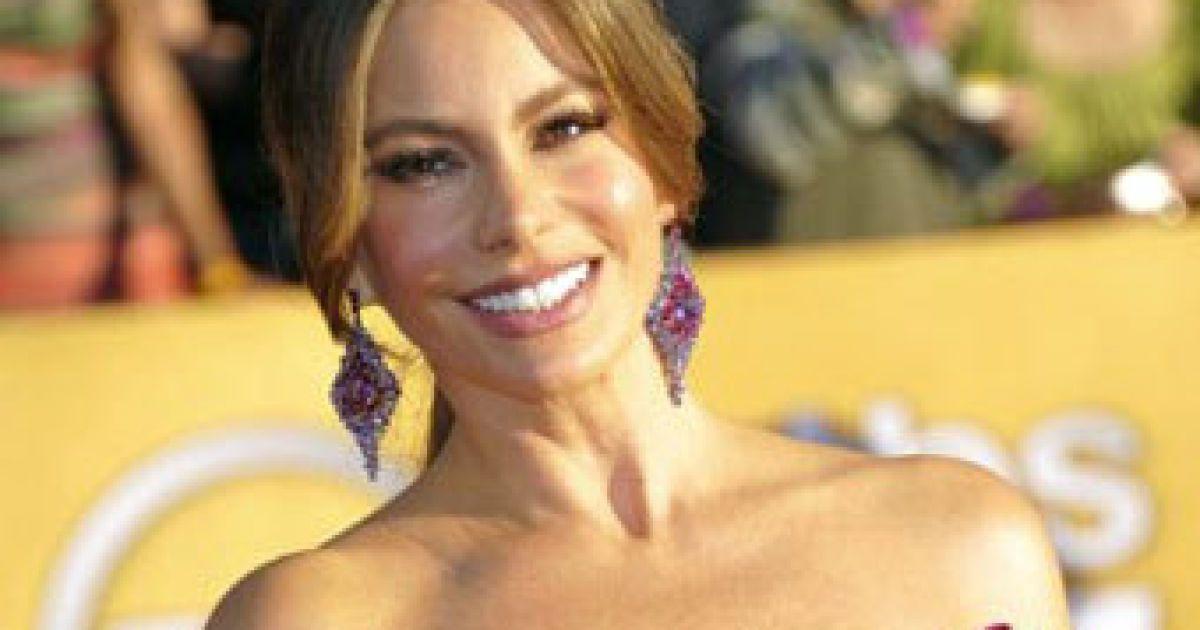 Найбажанішою жінкою 2012 року стала Софія Вергара @ AFP