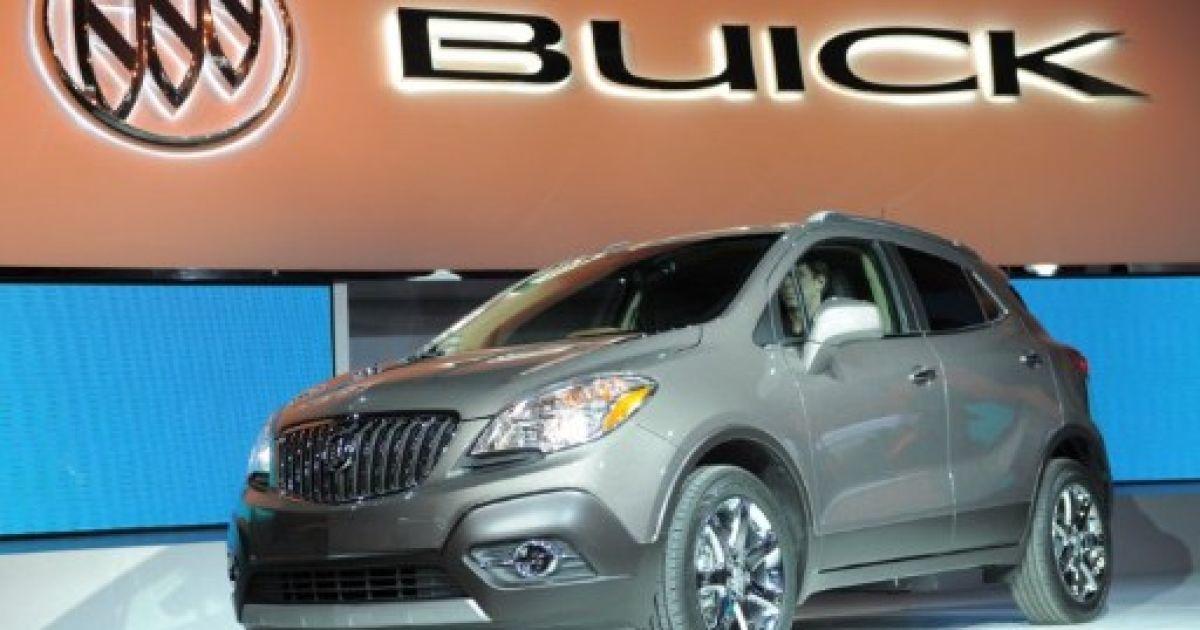 Buick Encore Crossover SUV @ AFP