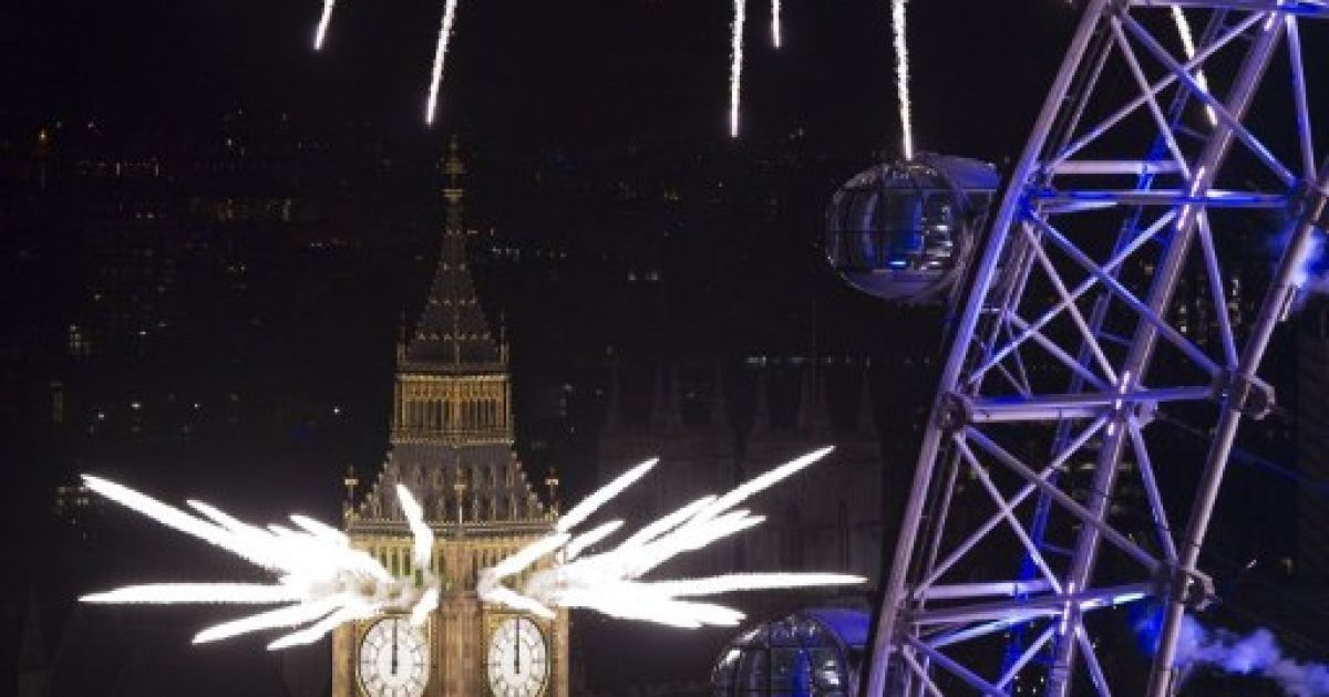 Зустріч Нового року. Лондон @ AFP
