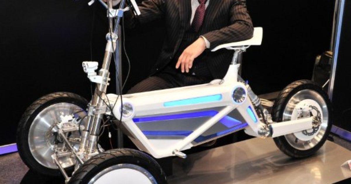 "Прототип електро-трайка ""Style"" @ AFP"