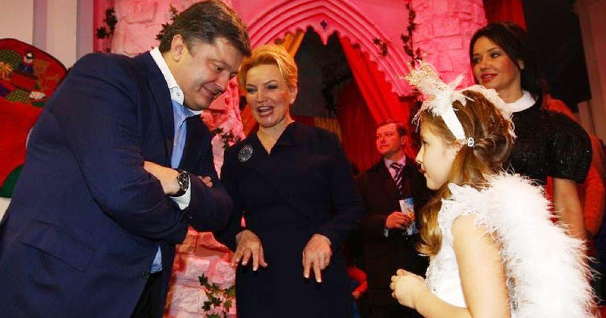 Петро Порошенко і Раїса Богатирьова @ gazeta.ua