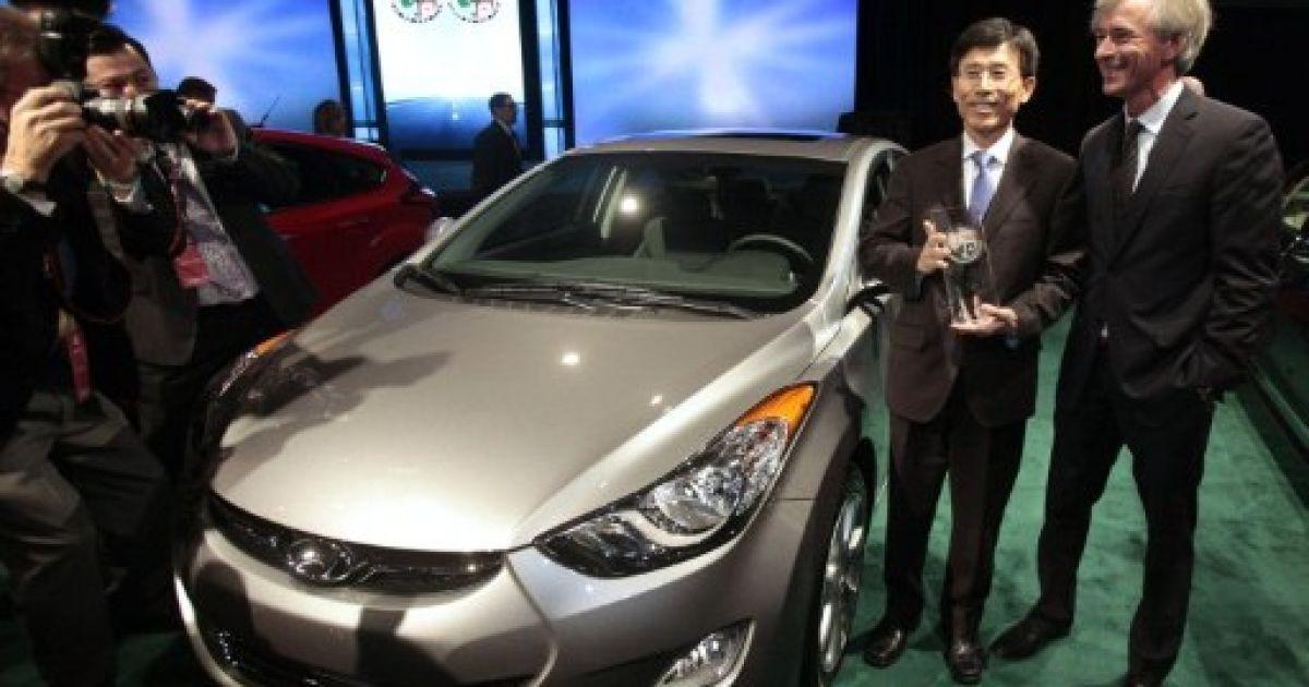 Hyundai Elantra  назвали найкращим легковим автомобілем року @ AFP