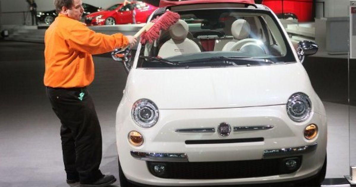 Fiat 500 C @ AFP