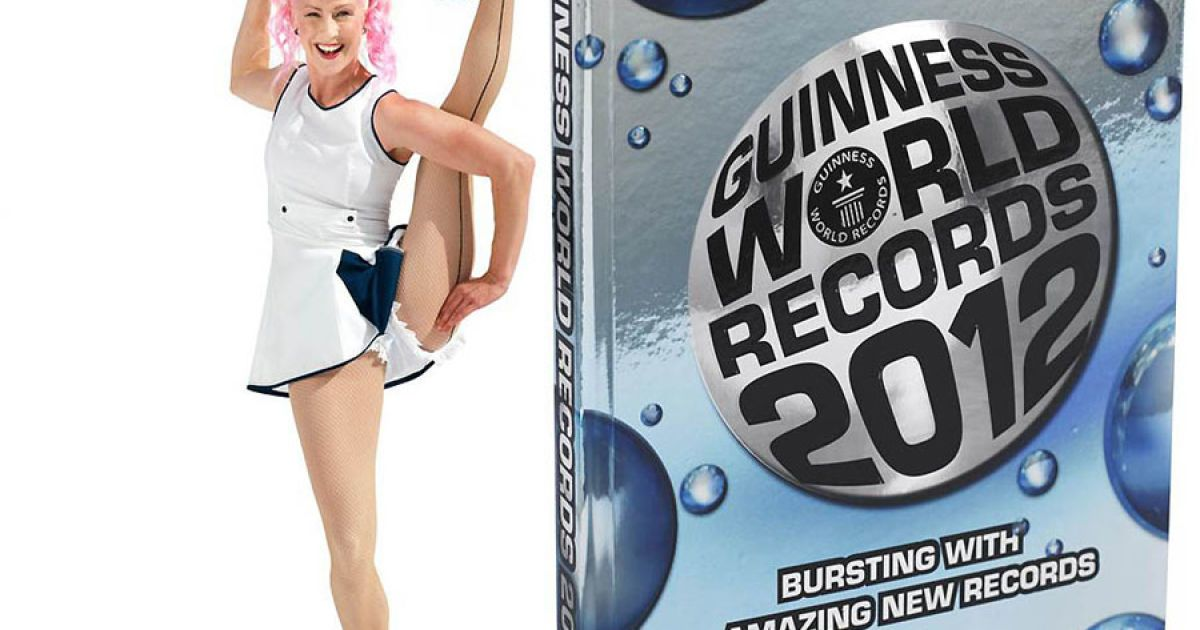 Найдивніші досягнення світу у Книзі рекордів Гіннеса за 2012 рік @ Guinness World Records
