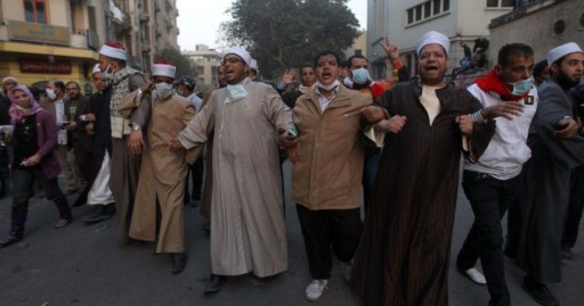 В зіткненнях з військовими і поліцією в Єгипті загинули щонайменше 38 людей @ AFP