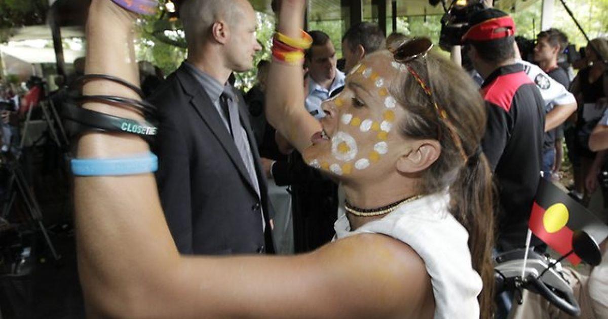 Прем'єр Австралії рятувалася від натовпу розлючених захисників прав аборигенів з допомогою спецназу @ The Australian