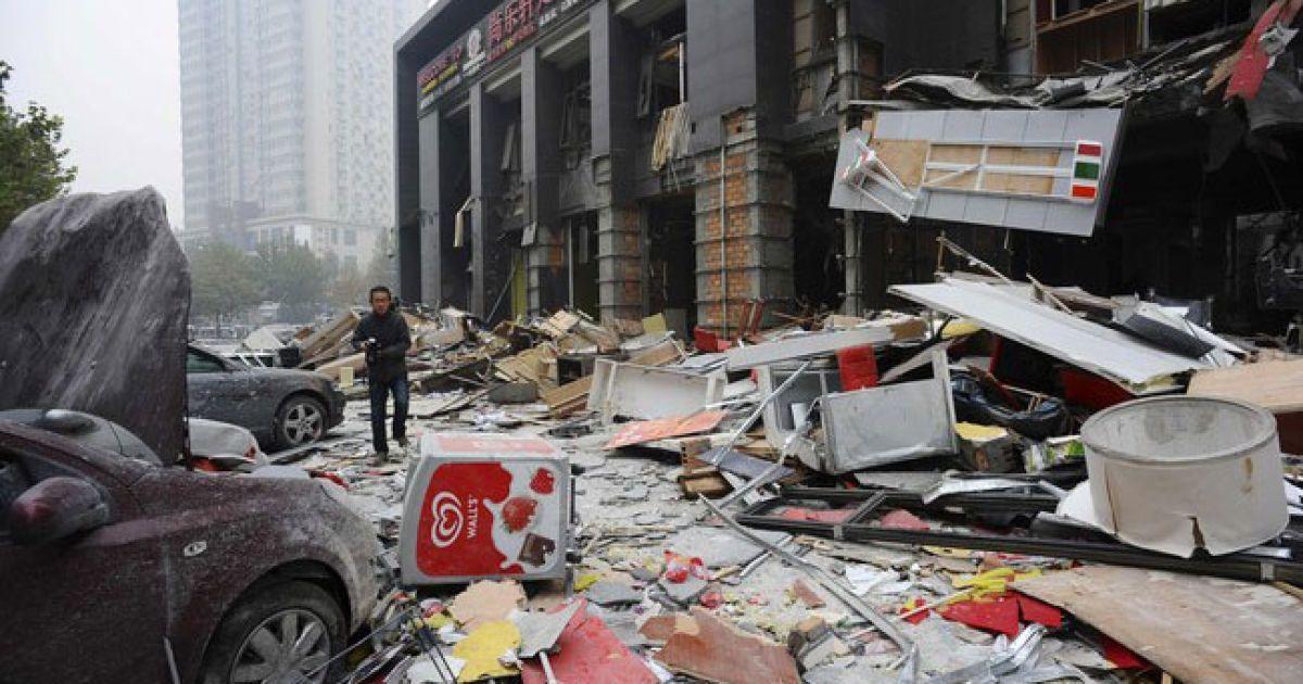 Вибух у китайському фастфуді @ AFP