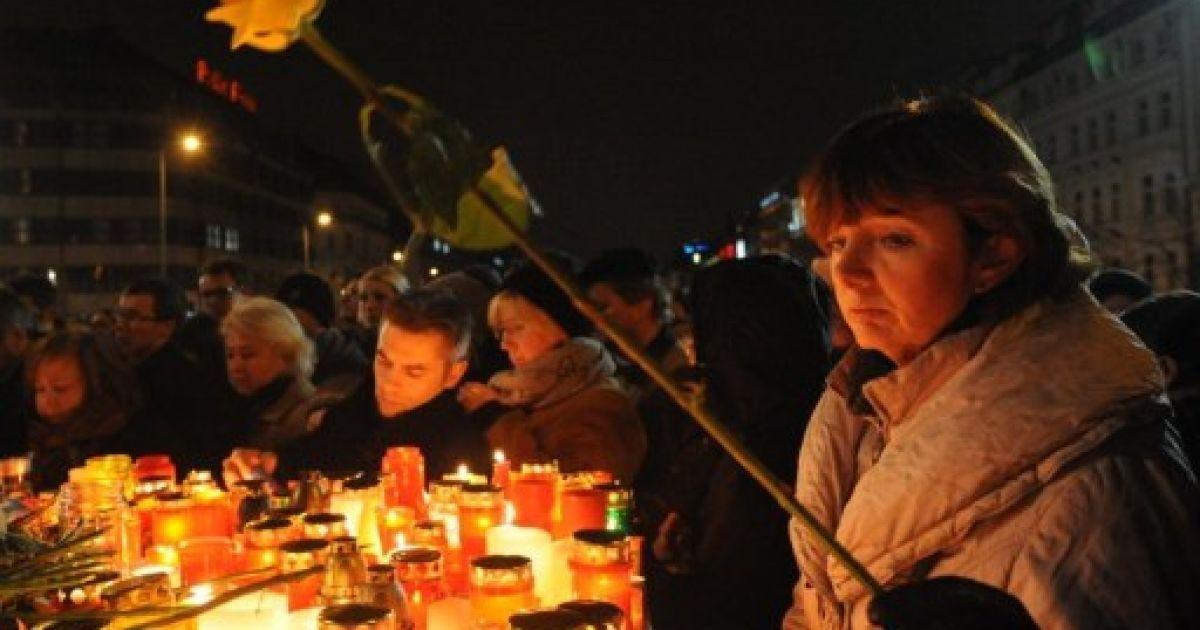 Чехія в жалобі після смерті першого президента країни Вацлава Гавела @ AFP