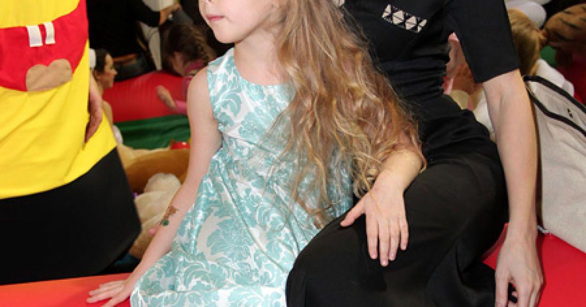 Ольга Фреймут з дочкою @ VIP.glavred