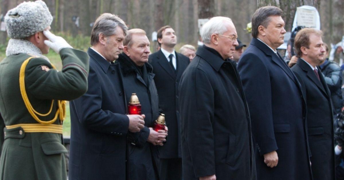 Янукович вшанував пам'ять жертв тоталітарного режиму @ Прес-служба президента України