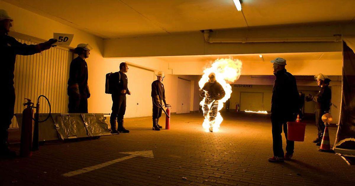 119 метрів і 91 см зміг пройти без кисневої маски палаючий Денні Дюстерхофт з Гамбурга @ Guinness World Records