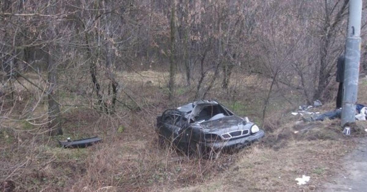 Причиною ДТП під Києвом могло бути перевищення швидкості @ ДАІ Києва