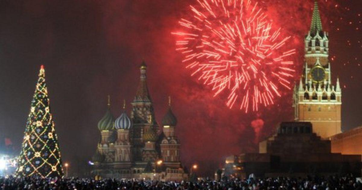 Зустріч Нового року. Москва @ AFP