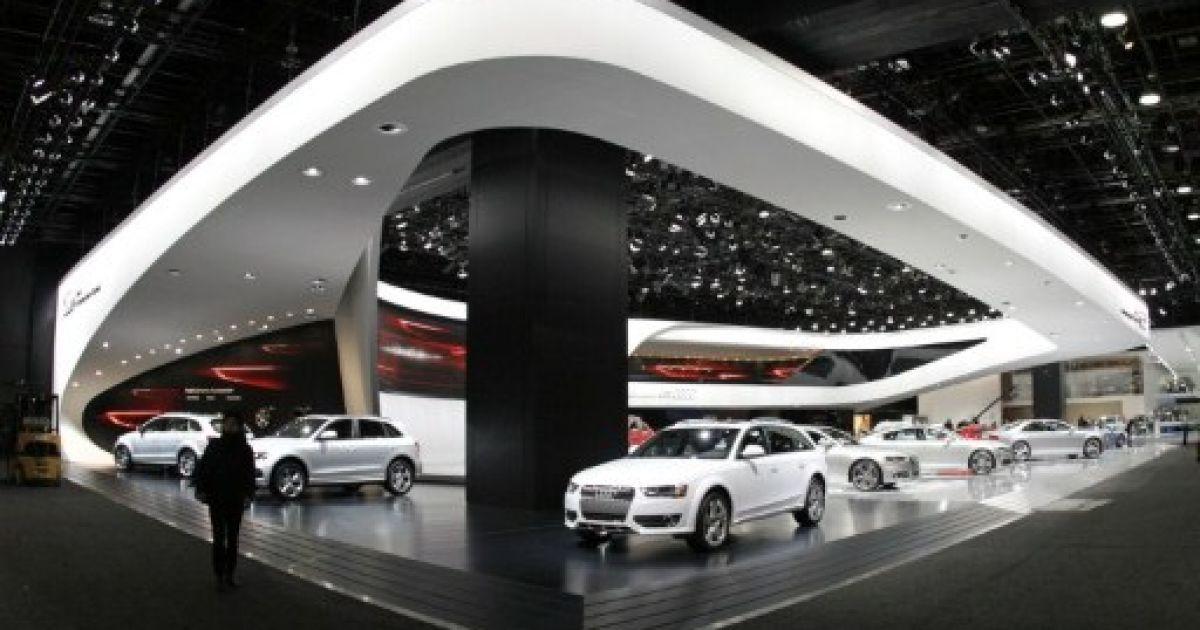 Автосалон у Детройті є однією з наймасштабніших подій у автомобільному світі. @ AFP