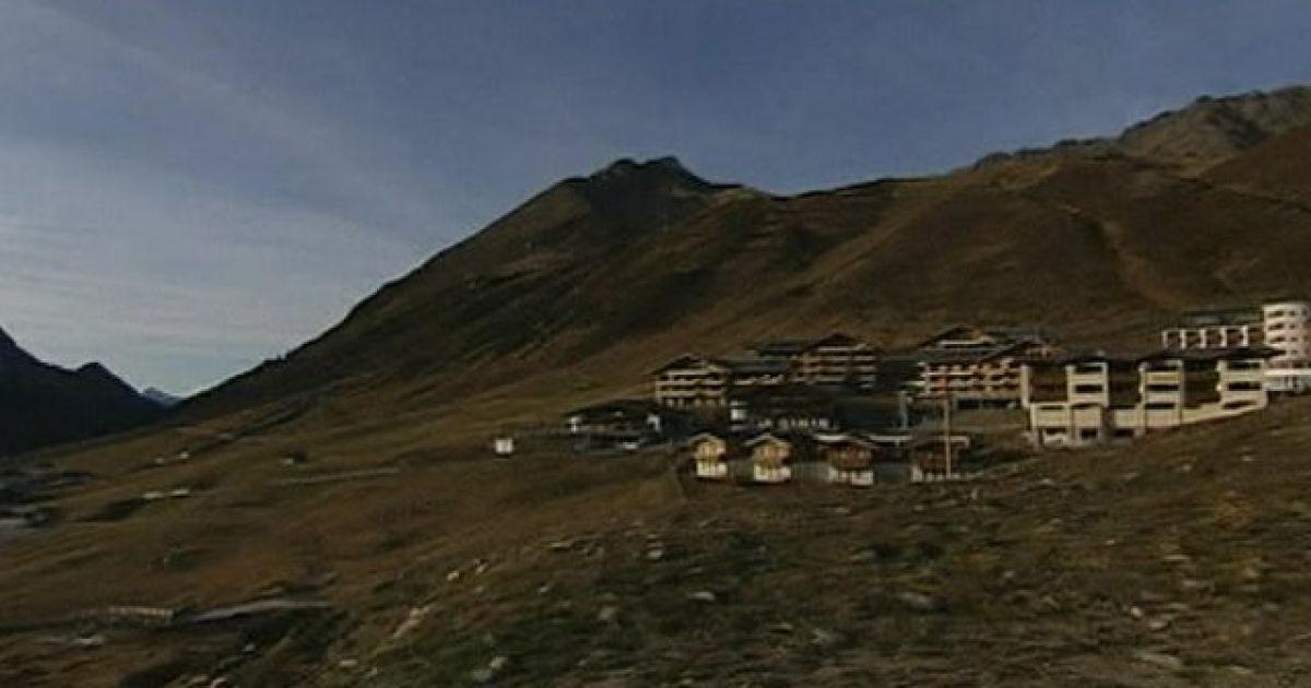 Австрійські Альпи. Веб-камера